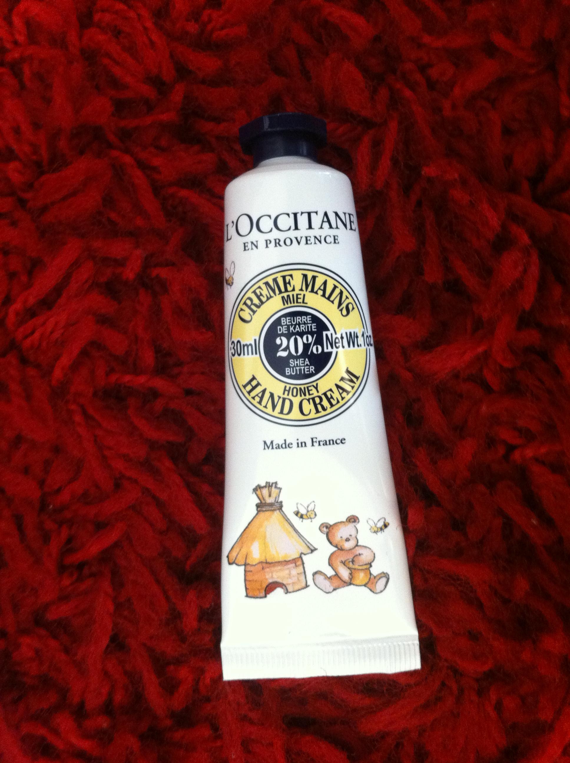 L'Occitane crème mains au miel et karité