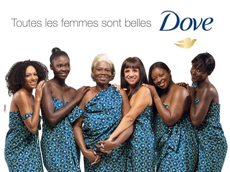 Publicité Dove Côte d'Ivoire